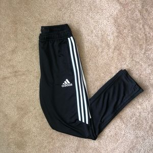 Adidas Black and White Pants